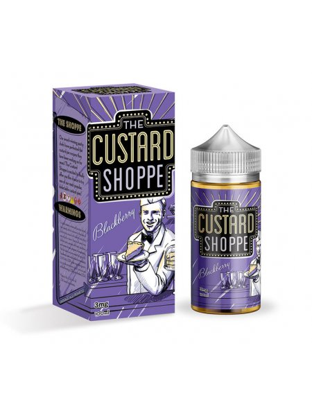 Жидкость The Custard Shoppe Blackberry /100мл