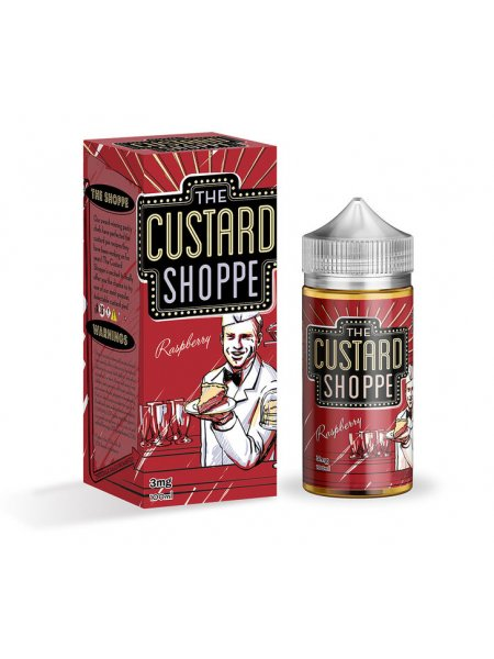 Жидкость The Custard Shoppe Raspberry /100мл