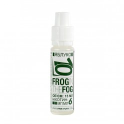 Жидкость Pink-Fury FROG IN THE FOG | Яблоко / 15мл