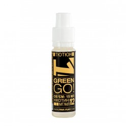 Жидкость Pink-Fury GREEN GO | Табак / 15мл.