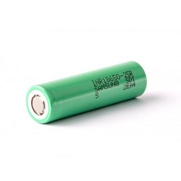 25R Samsung 2500mah (green) аккумулятор 18650