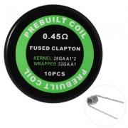 Готовая спираль Kanthal A1 Fused Clapton   0.45Ом (1шт.)