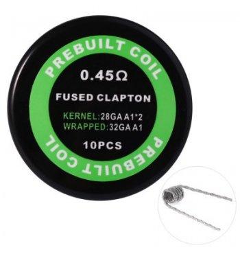 Готовая спираль Kanthal A1 Fused Clapton | 0.45Ом (1шт.)