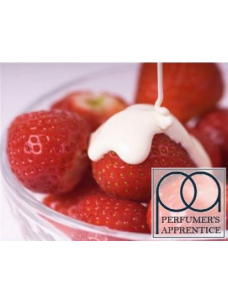 Ароматизатор Strawberries Cream (Клубника со сливками) 5мл TPA