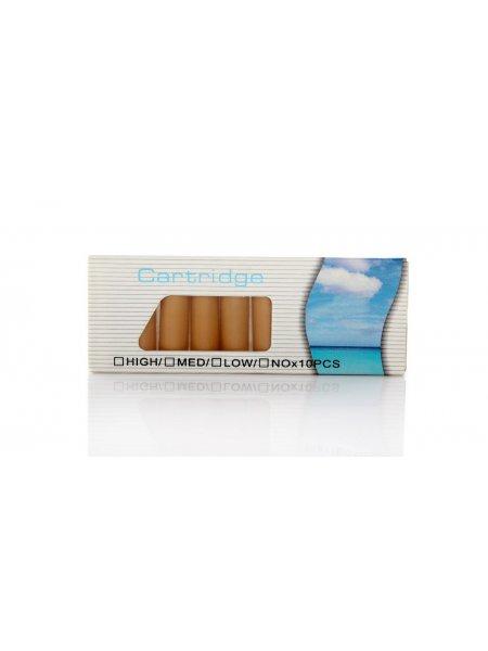 Набор из 10-ти картриджей для электронных сигарет.