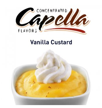Ароматизатор Capella Vanilla Custard (Ванильный крем) 5мл