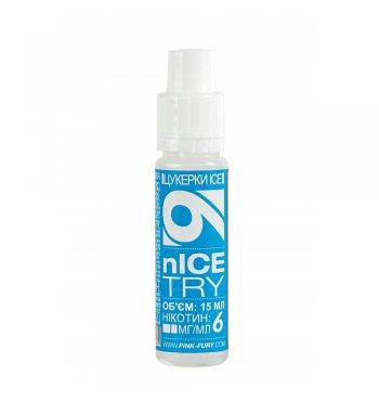Жидкость Pink-Fury nICE TRY | Мятный леденец / 15мл.